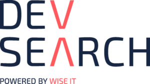 Dev Search - Engelska (Wise IT fokus) logo