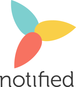 Notified logo